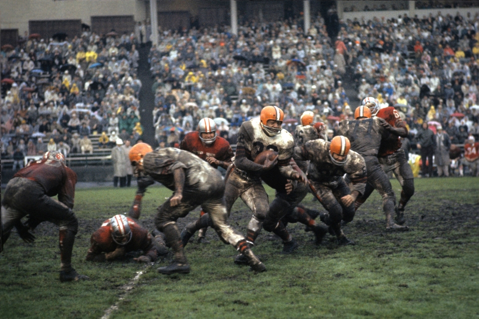 Jim Brown, Cleveland Browns Running Back