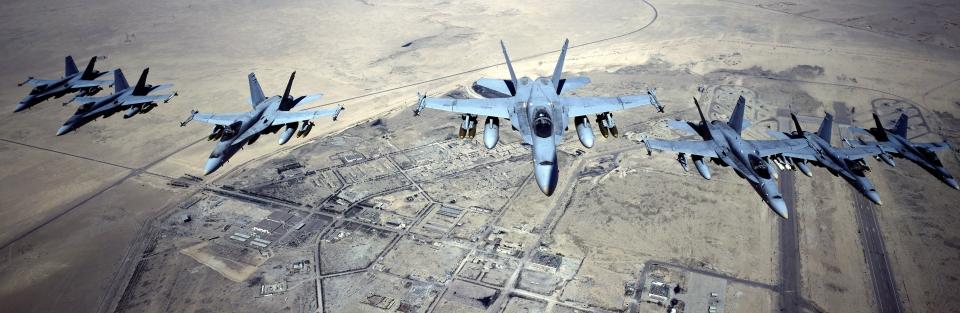 U.S. Marine F-18s