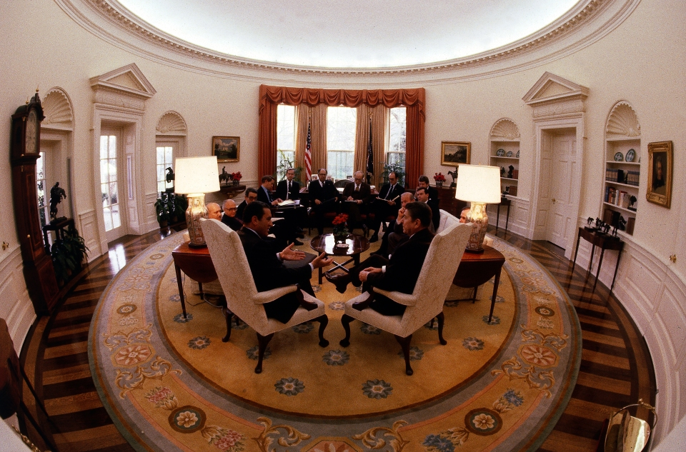 The Oval Office Neil Leifer