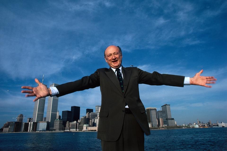 Ed Koch - New York Harbor