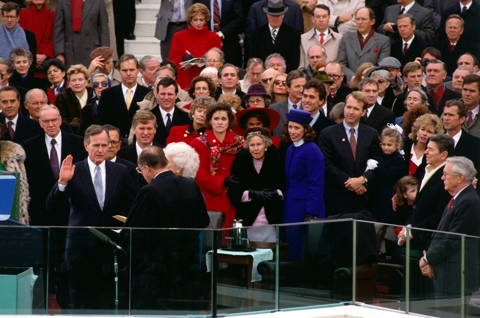 George Bush Inauguration