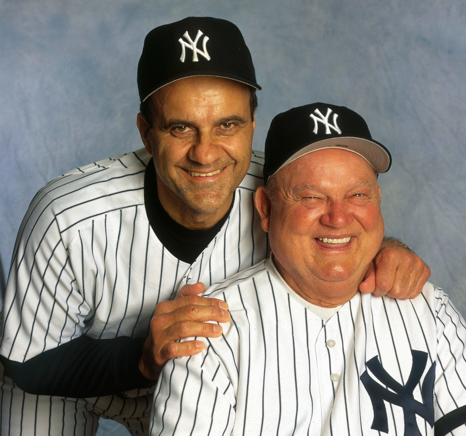 Joe Torre and Don Zimmer