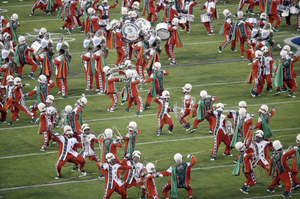The Super Bowl - Florida A&M Marching Band