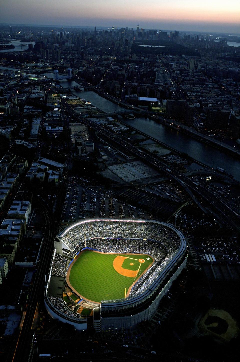 Yankee Stadium Aerial ...