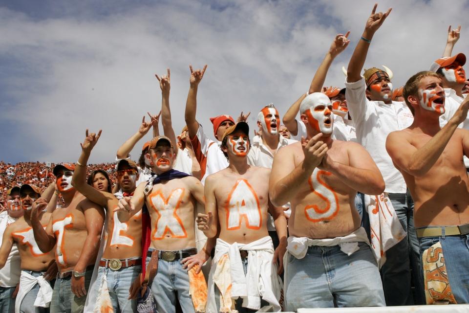 Texas Longhorns Fans - Texas vs Oklahoma