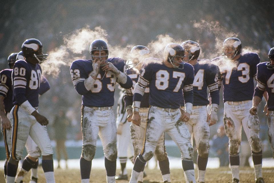 Minnesota Vikings in Cold