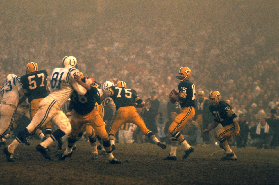 Green Bay Packers vs Baltimore Colts