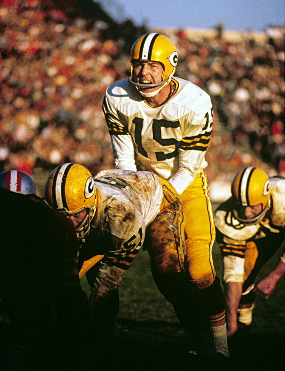 Bart Starr over Center