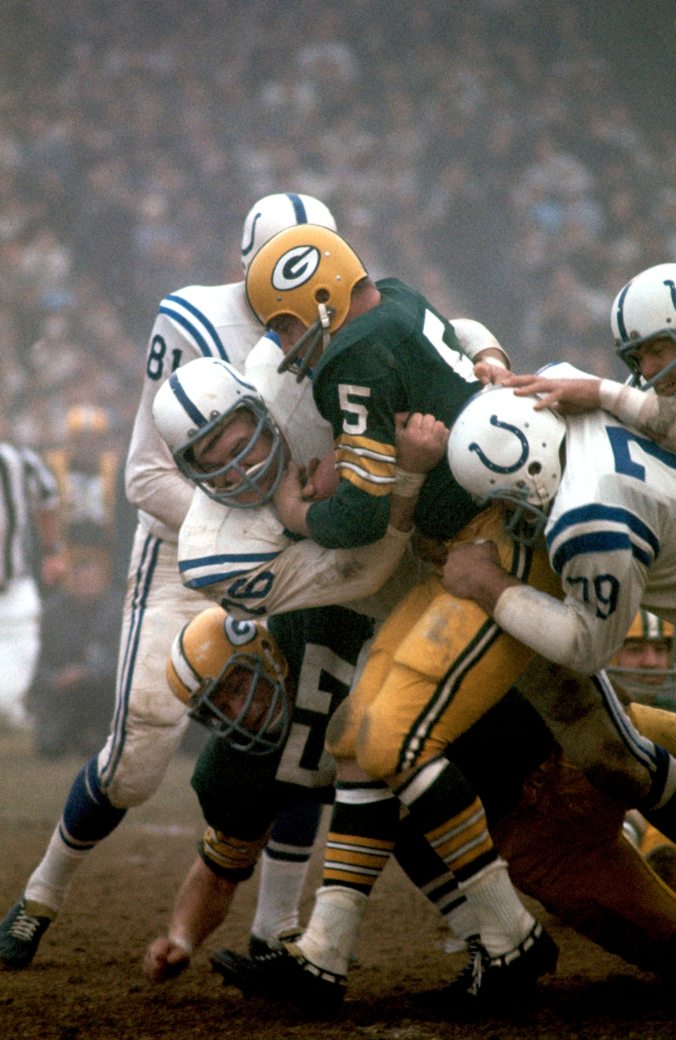 Paul Hornung vs Baltimore Colts