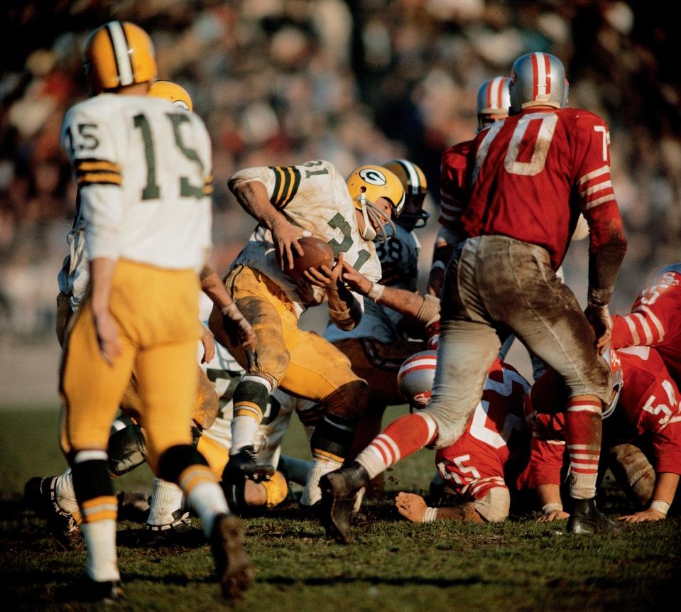 Jimmy Taylor Running vs 49ers