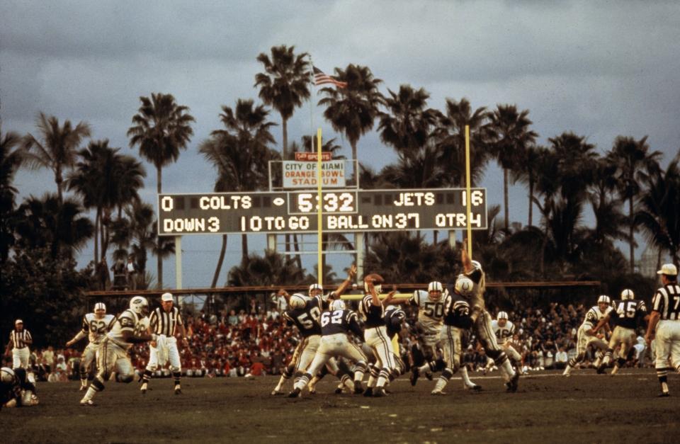 Jets vs Colts, Super Bowl III