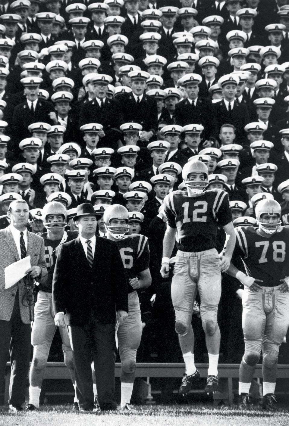 Navy vs Maryland, #12 Roger Staubach