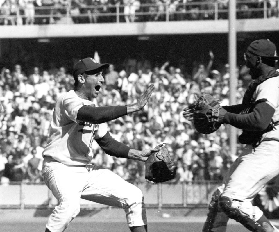 1963 World Series Final Game, Close-up Celebration