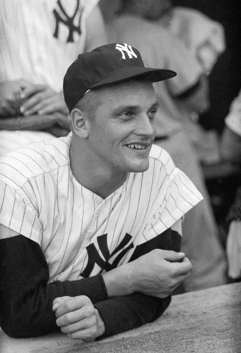 NY Yankees's Roger Maris