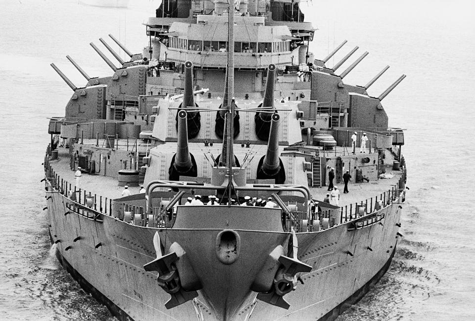 Battleship U.S.S. New Jersey