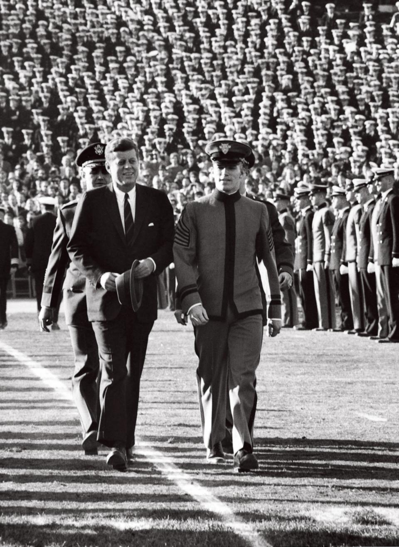 JFK at Army - Navy Game