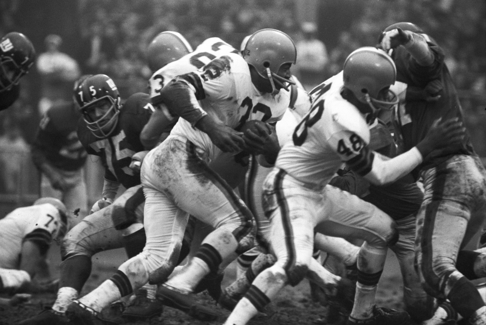 Jim Brown vs NY Giants