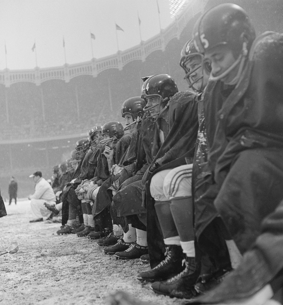 New York Giants Bench