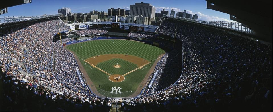 Yankee Stadium, Yankees vs Boston Red Sox (Super Wide Shot)